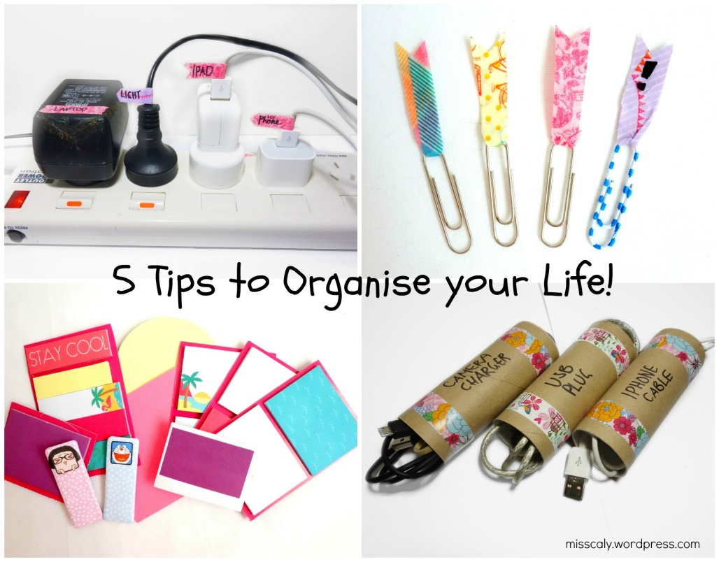 organise life collage