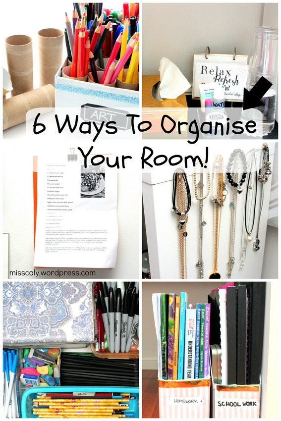 6 Ways to Organise Your Room-001