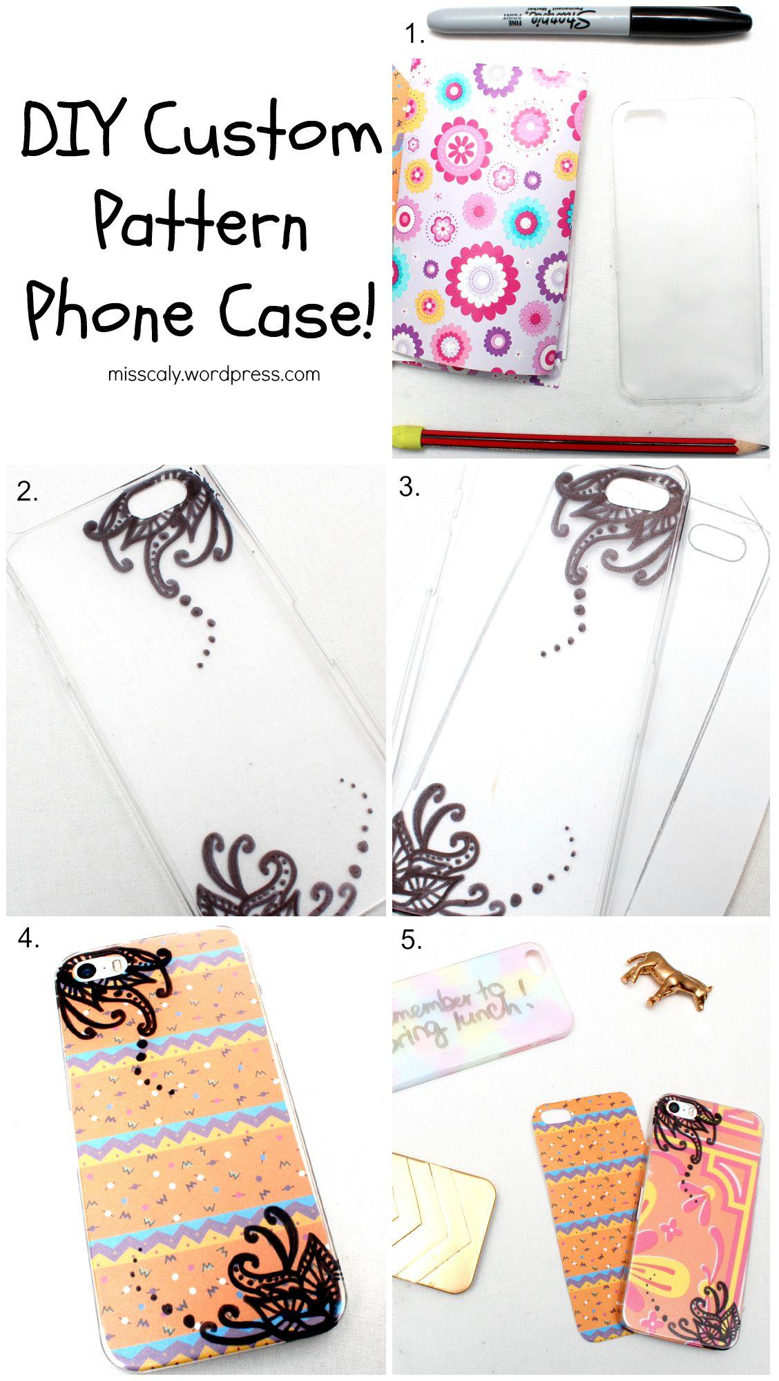Custom Pattern Case