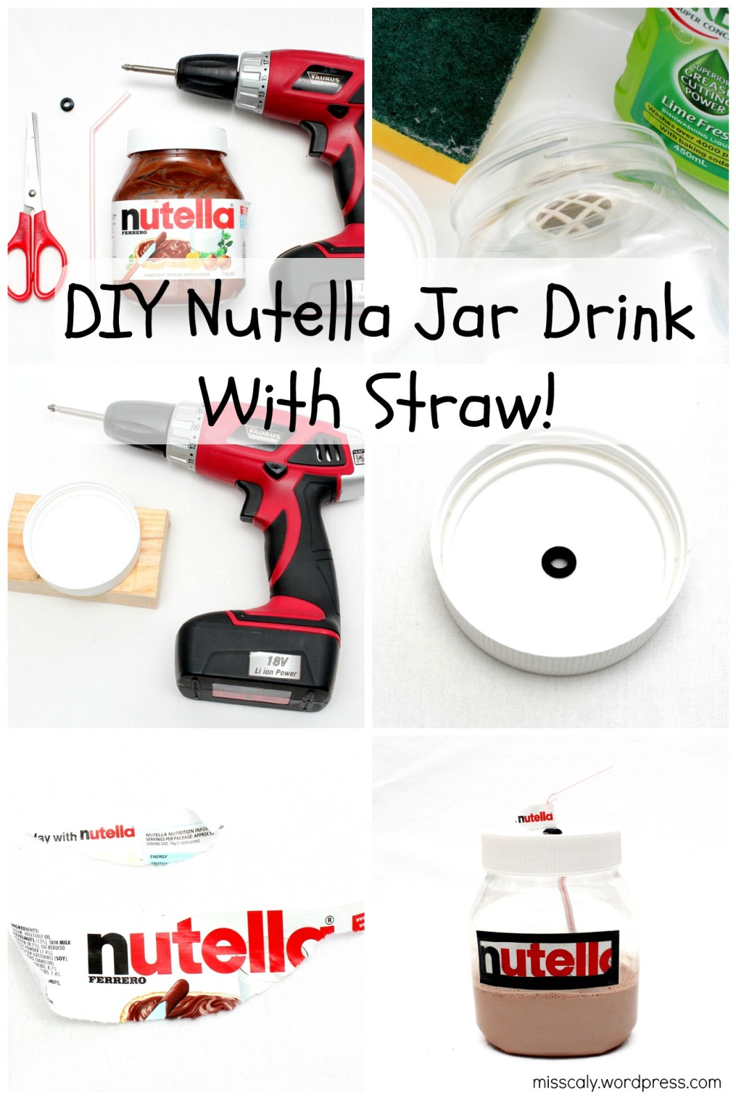 DIY nutella drink