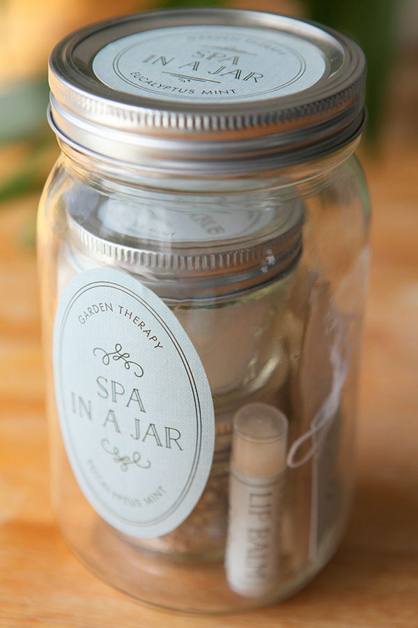 spa in a jar gift