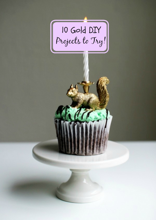 10 diy gold projects