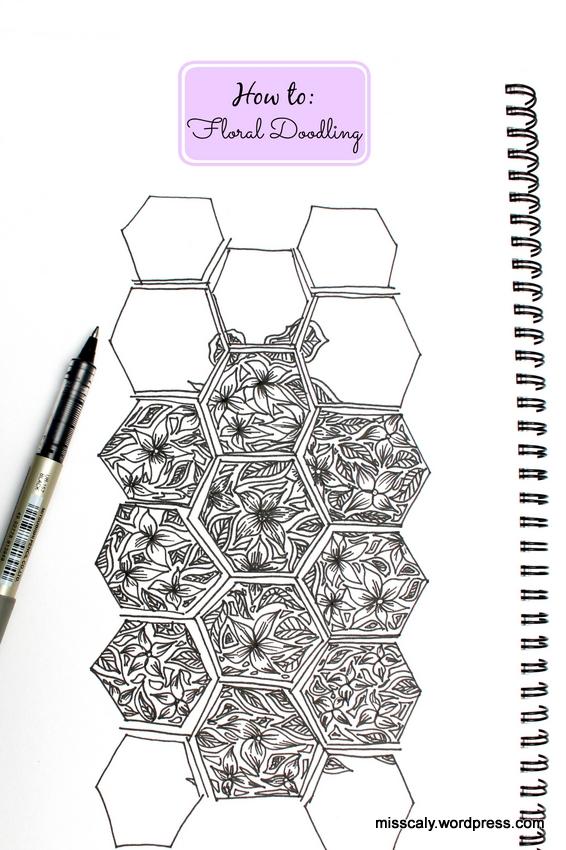 floral doodline