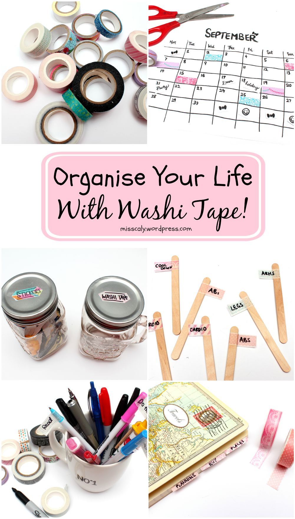 organise life with washi