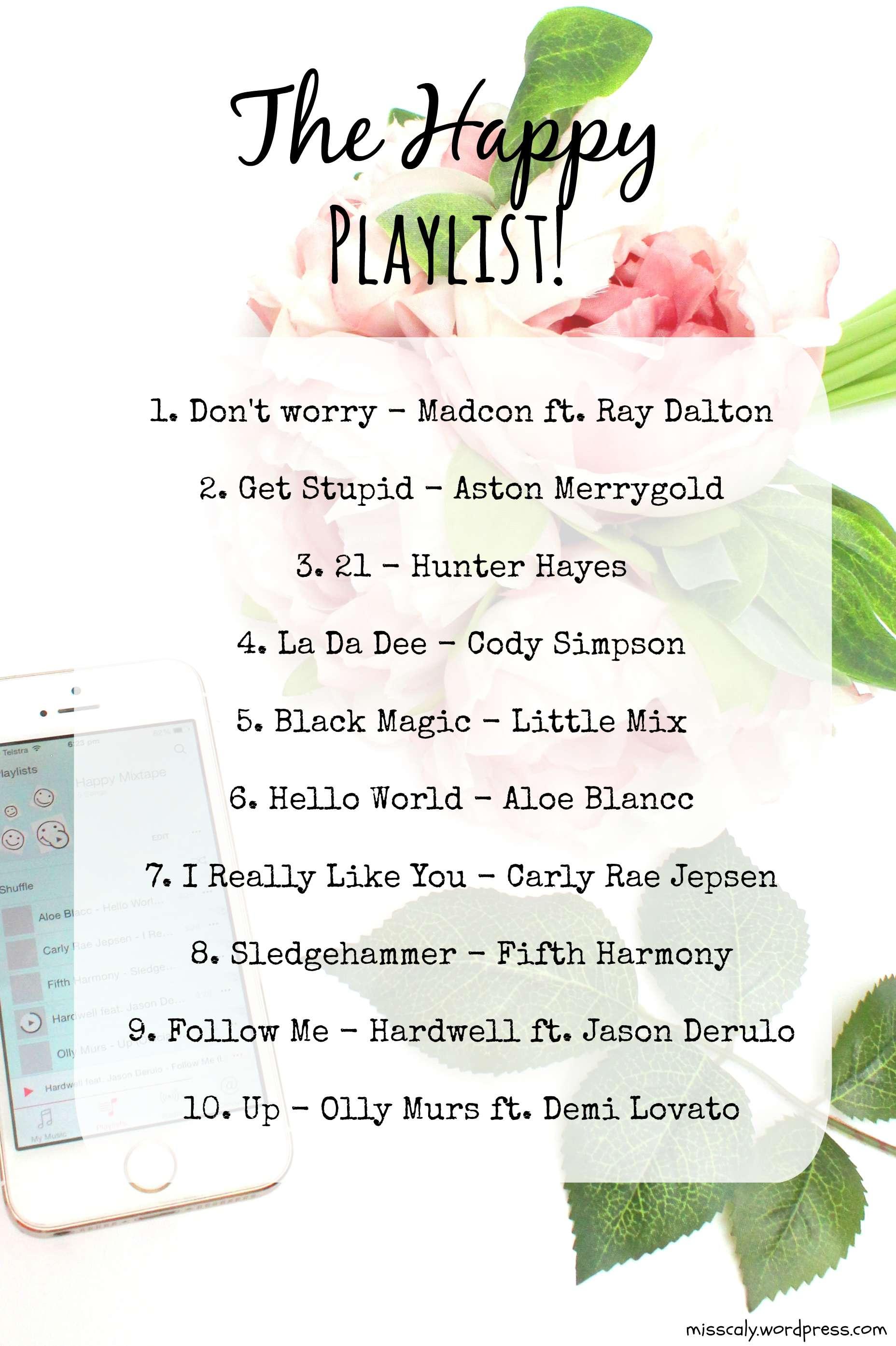 happy songs playlist - HD1856×2786