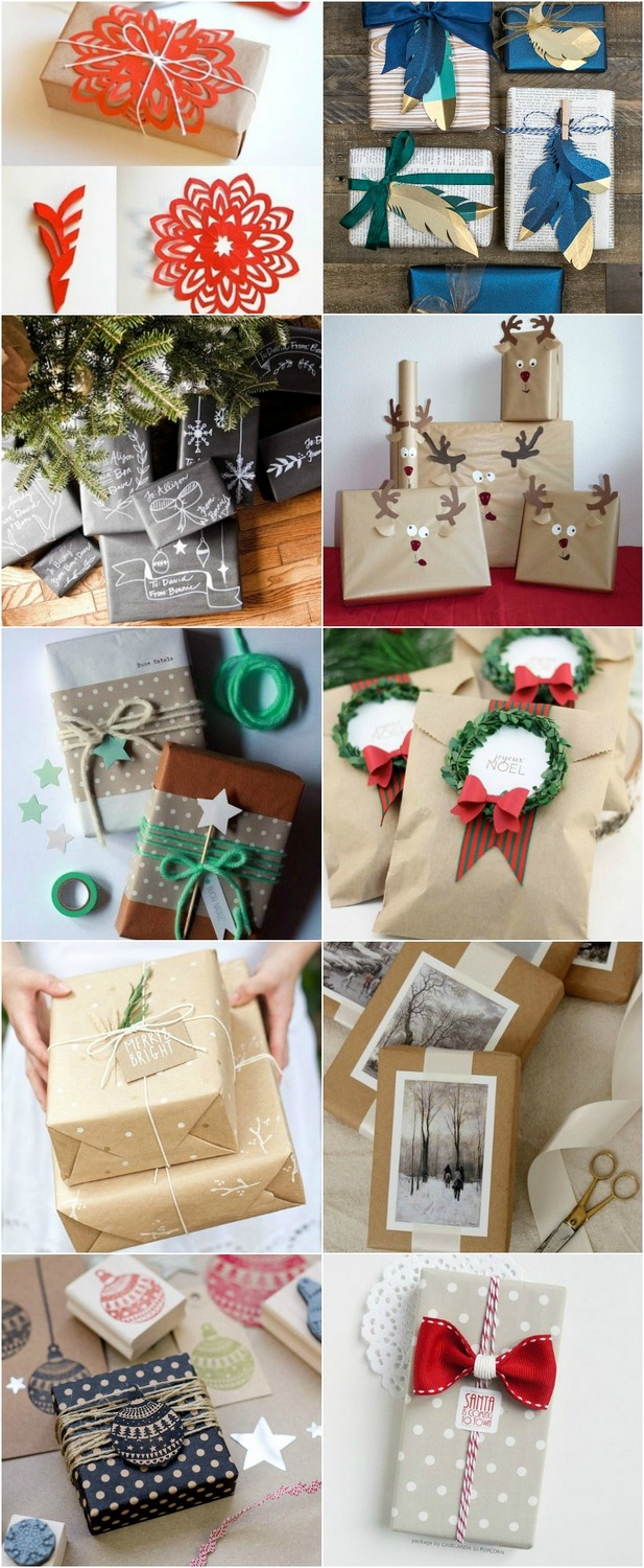 20 ways to wrap your gifts this Christmas! - Miss Caly