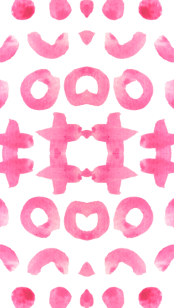 Pink wallpaper - Miss Caly