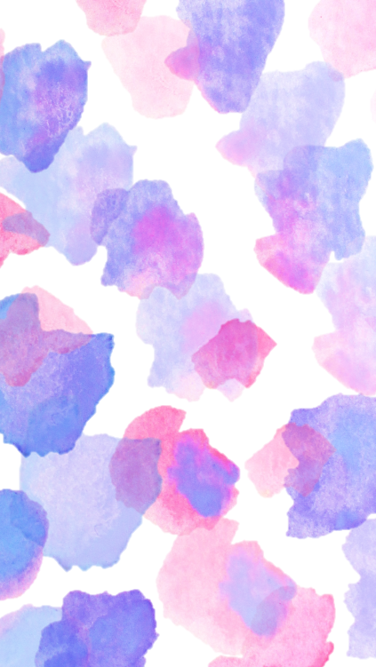 Watercolour Wallpaper - Miss Caly