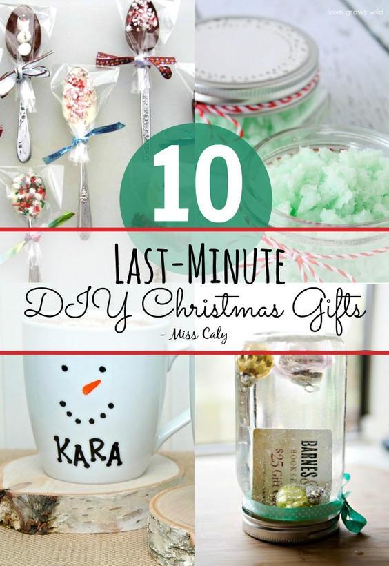 10 Last minute DIY gift ideas for Christmas! - Miss Caly