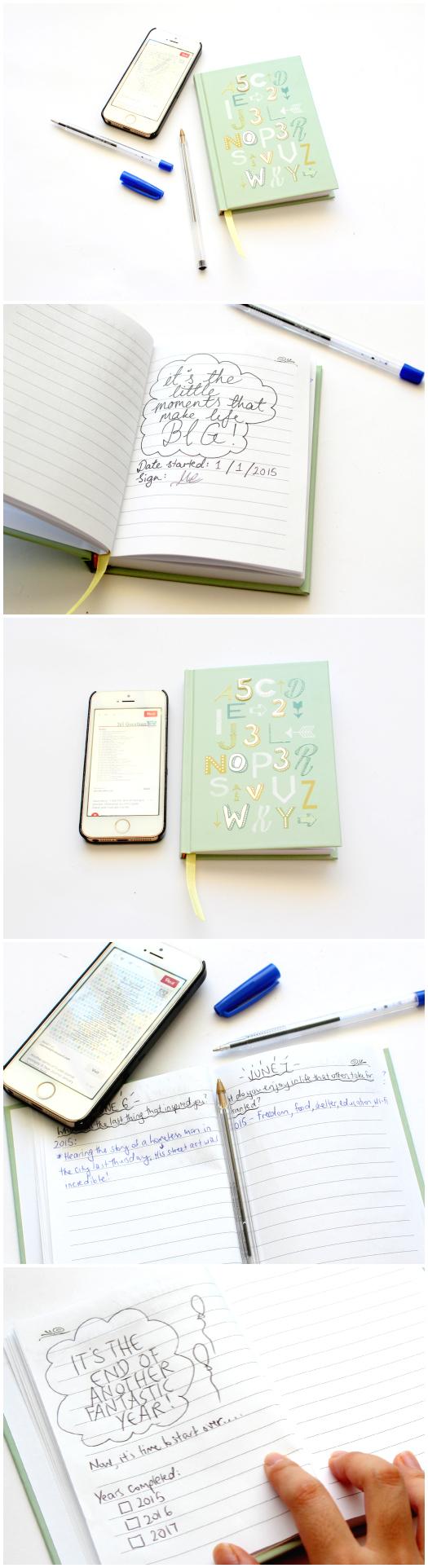DIY Kikki.k Inspired 3 Year Journal By Miss Caly