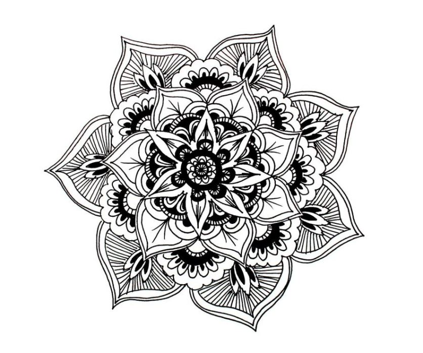 8 Free Printable Mindful Colouring Pages m i s s c a l y