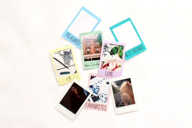 Printable DIY polaroid borders - Miss Caly (1)