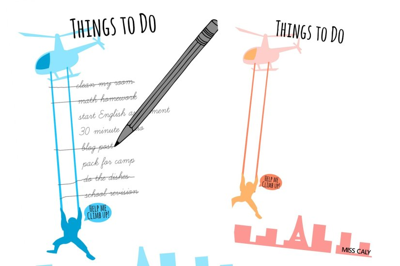fun printable to do list - save the man! - miss caly
