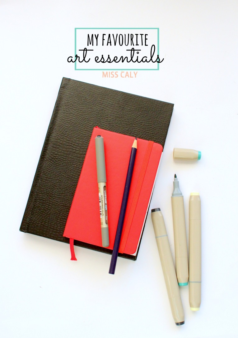 My Favourite Art Supplies! - Miss Caly