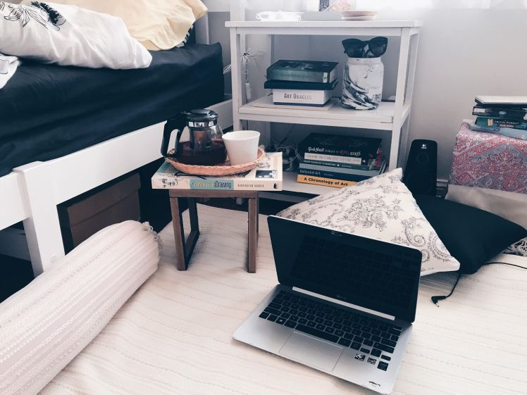 diy bedside stand miss caly