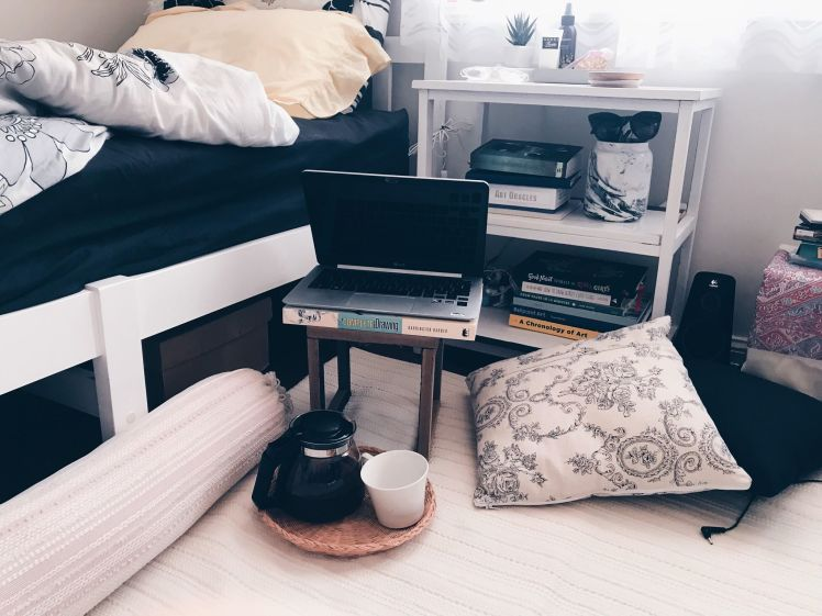 diy bedside stand miss caly1